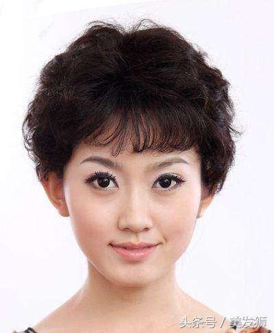 推荐20款40岁到50岁女人适合的优雅高贵发型图片