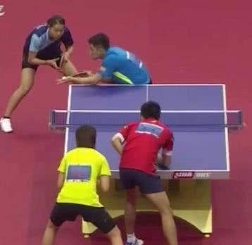 乒乓球全锦赛混双决赛对阵名单出炉。哪两对组合晋级决赛?