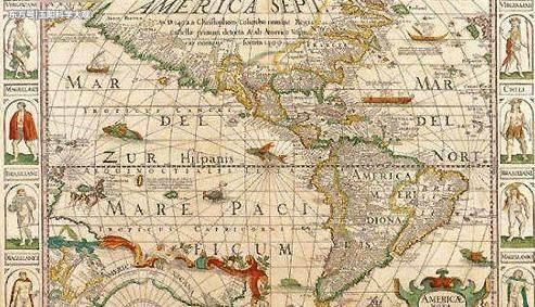 科技 正文  皮尔·里斯地图是一张全球闻名的上古世界地图,是由16世纪