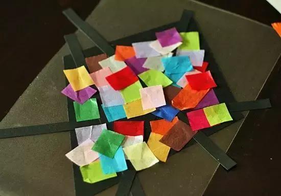 幼儿园春季手工提前学:涂鸦卡纸粘贴等,陪孩子制作樱花小瓢虫