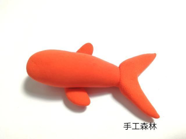 超轻粘土手工制作教程小鱼