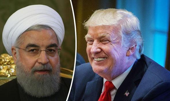伊朗美国_特朗普会进行一个\