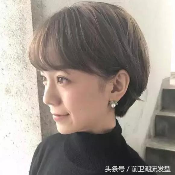 """春天女人短发流行""""洋葱头""""发型,剪一款气质短发让自己"""