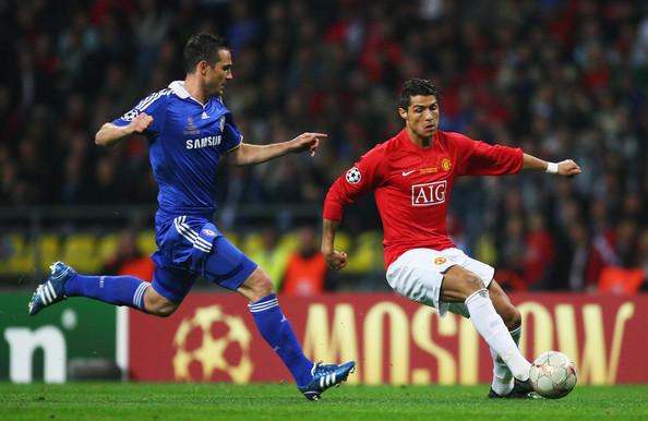 体育 正文  【2008年的兰帕德】2008年的欧冠决赛,效力曼联的c罗第一图片