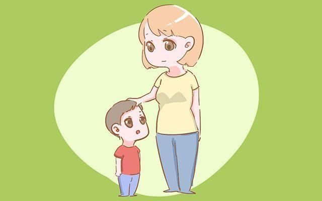 妈妈教孩子走路简笔画