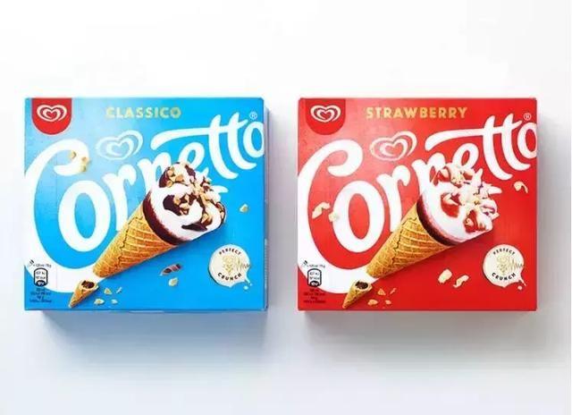 """""""可爱多冰淇淋""""换新logo了!"""