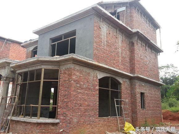 农村建房真划算:15万建好毛坯,外墙 院子总共30万搞定