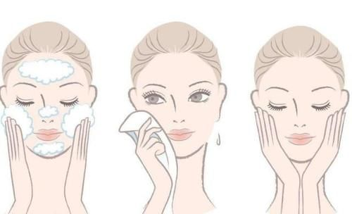 端正洗脸的正确方法