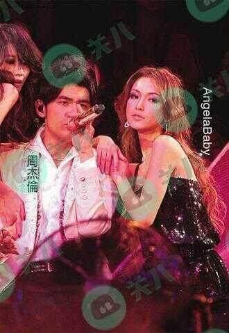 没认出来! 十一年前, 周杰伦演唱会的这个伴舞, 竟是angelababy!