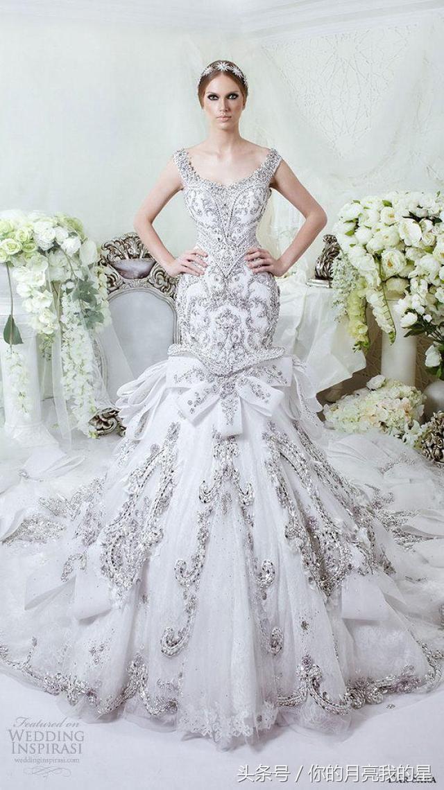 十二星座的绝美婚纱造型,射手座的最美,你敢穿吗