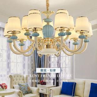 所以简欧风格的设计可以考虑这类型的吊灯哦!图片