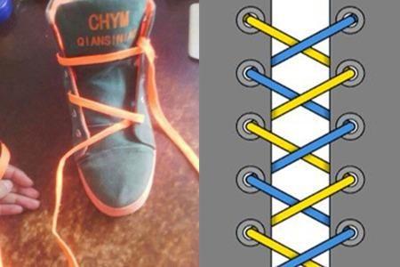 鞋带蝴蝶结系法图解大全 方便易上手的冬日装饰