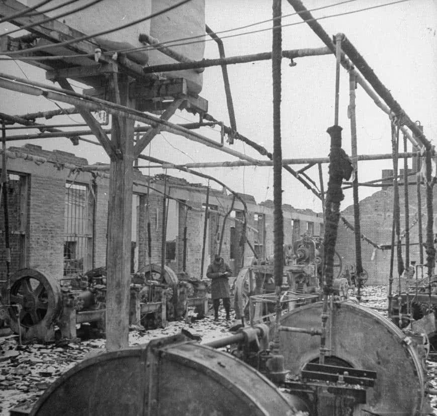 1946年设备大拆东北苏军:拆走大批海业,繁华工工厂有限公司可机电设备怎么样上图片