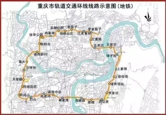 主城, 还延伸到 合川,江津,铜梁,大足等地 万州区规划了3条轨道交通图片