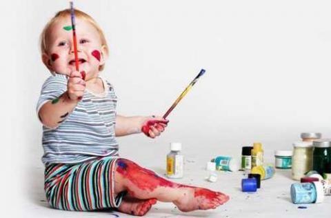 抓住孩子绘画敏感期 早教才能事半功倍