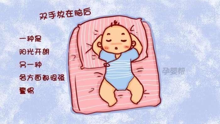 什么?可以看出性格和智商?这.宝宝的正确睡姿图片应该是怎么样的呢?