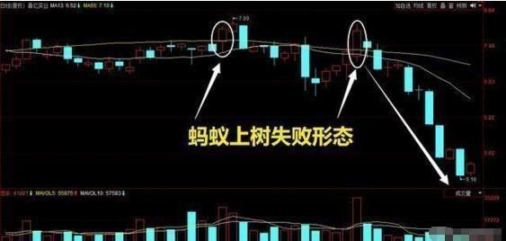 """千金难买""""蚂蚁上树""""K线形态,一旦遇见,股价必然暴涨,后市将会一飞冲天!股票"""