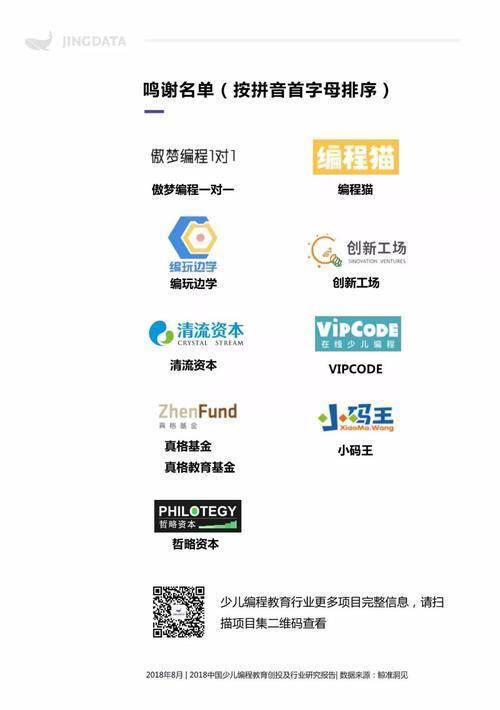 编程资讯_2018中国少儿编程教育创投及行业研究报告_【快资讯】