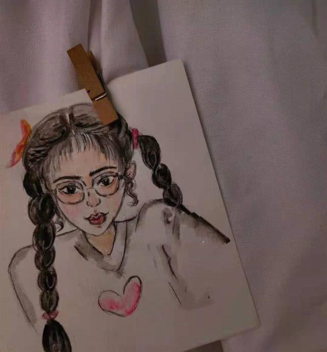 小清新·像素·简笔画:删你的人是我,偷偷去关注你动态的还是我