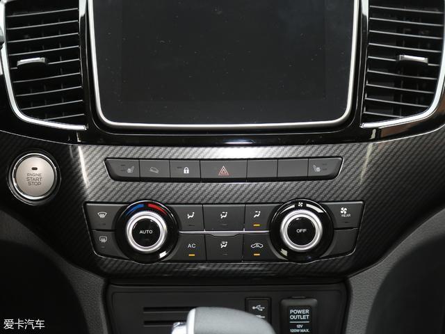汽车 正文  牧游侠x-power版的空调控制方式为按键 旋钮,比触摸式按键