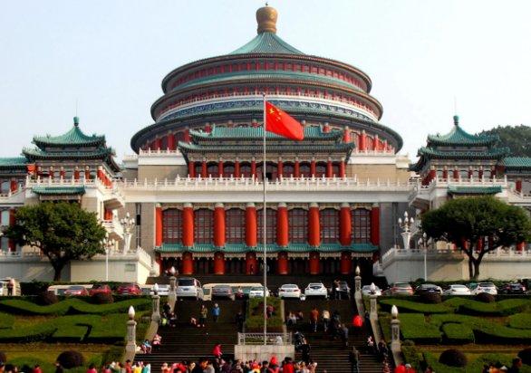 重庆这个建筑真壮观,是亚洲经典建筑,更是重要标志