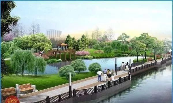 校园生态建筑景观_另外,在调研期间还要注意河道周边的环境,记录周边的建筑,生态湿地