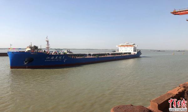 舟山江海联运提出水运升级新问题