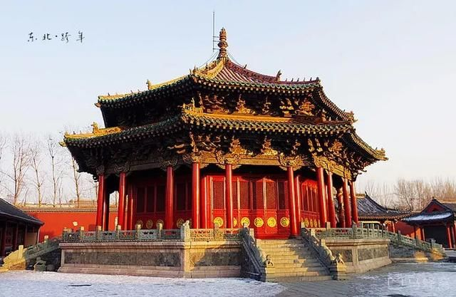 沈阳故宫是中国的历史遗迹 世界的文化遗产 沈阳人的骄傲