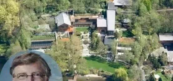 <b>首富比尔盖茨的豪宅,耗时7年才建成,6600平方内养鲸鱼</b>