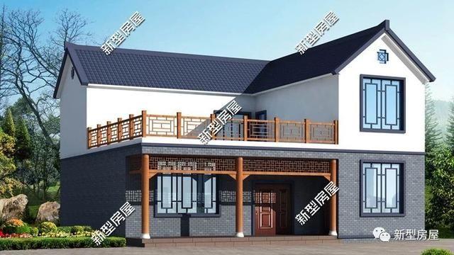 推荐 正文  二层经典欧式小别墅,二层带露台.