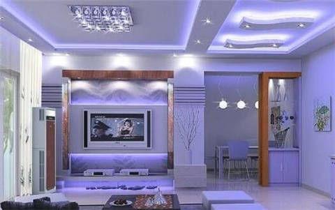 不吊顶的客厅,你可以这样选择灯饰