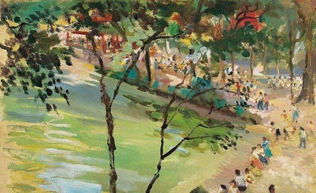 美术中国画画