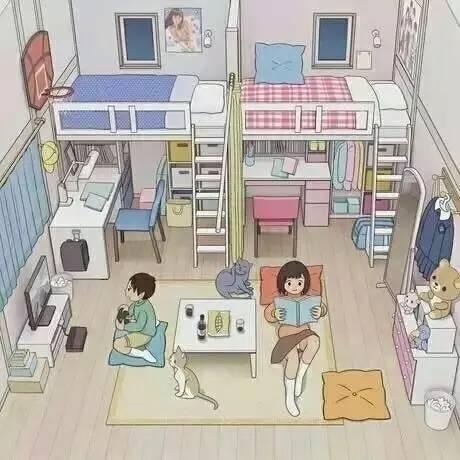 一儿一女的儿童房这样设计,空间利用率超高,设计大方气氛融洽!
