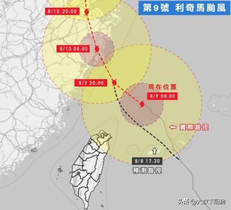 <b>台风利奇马北移50公里!最强核心在海面,气象专家:不要判断太早</b>