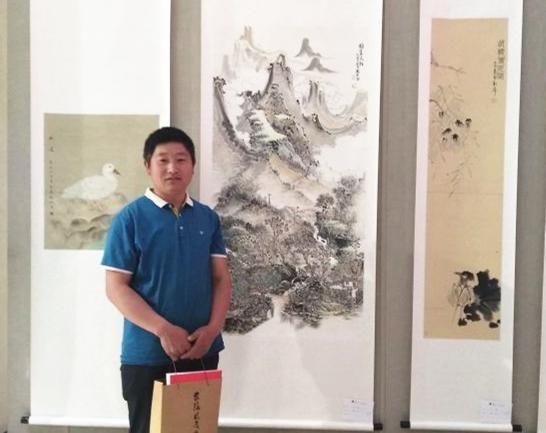 写意中国画家联盟,联展改革开放40周年庆祝椅v写意性爱情趣图片