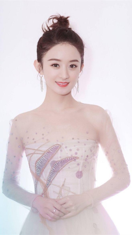 手机壁纸:赵丽颖,纯唯美,真人