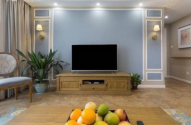 简单好看电视墙效果图 简单电视墙效果图
