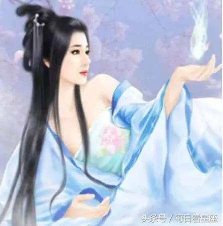 星座穿越到古代成为蓝衣女子,金牛座是美人,你是什么