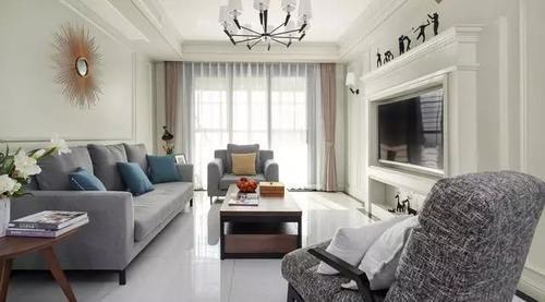 专业装修:30款美式风格客厅,你要的效果都在这,收藏了图片