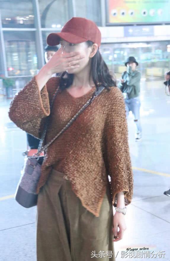 王鸥素颜素装气质不如街边大妈,林更新看到脸上全是黑线不忍直视