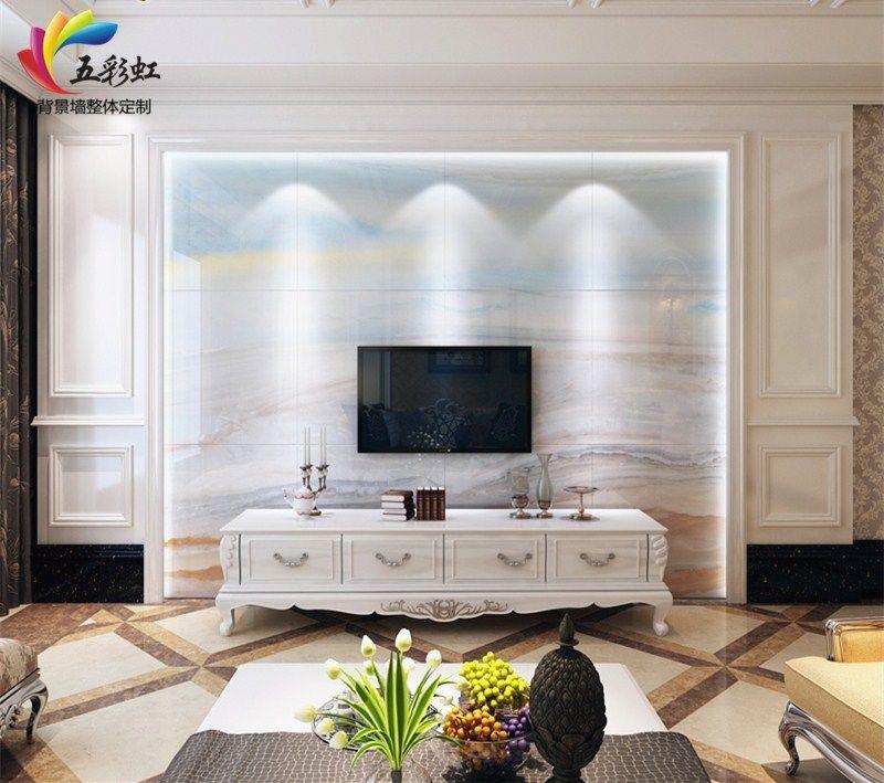 15款大理石背景墻電視造型效果圖,瓷磚大理石背景墻案例