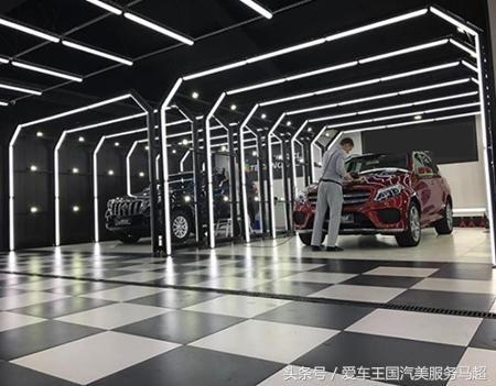 国马超带您了解最新最全停车场开洗车店灯光设