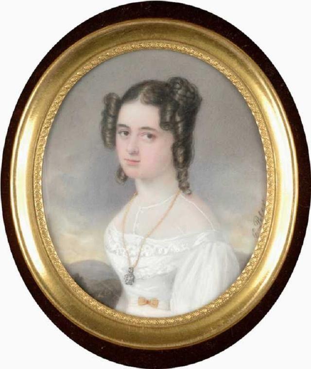 18世纪欧洲宫廷贵妇人物绘画作品欣赏 哈哈哈 第8张