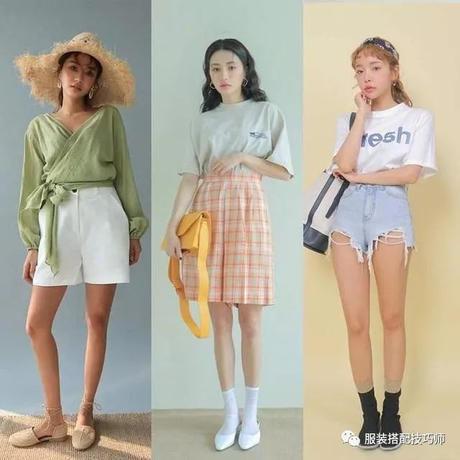 穿衣搭配:27套夏日活力穿衣搭配,简约美美哒!