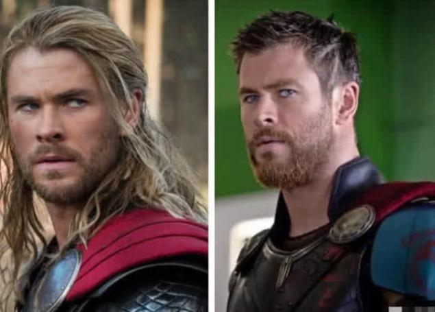 漫威英雄十年的变化,雷神削发,美队增肌,而他越