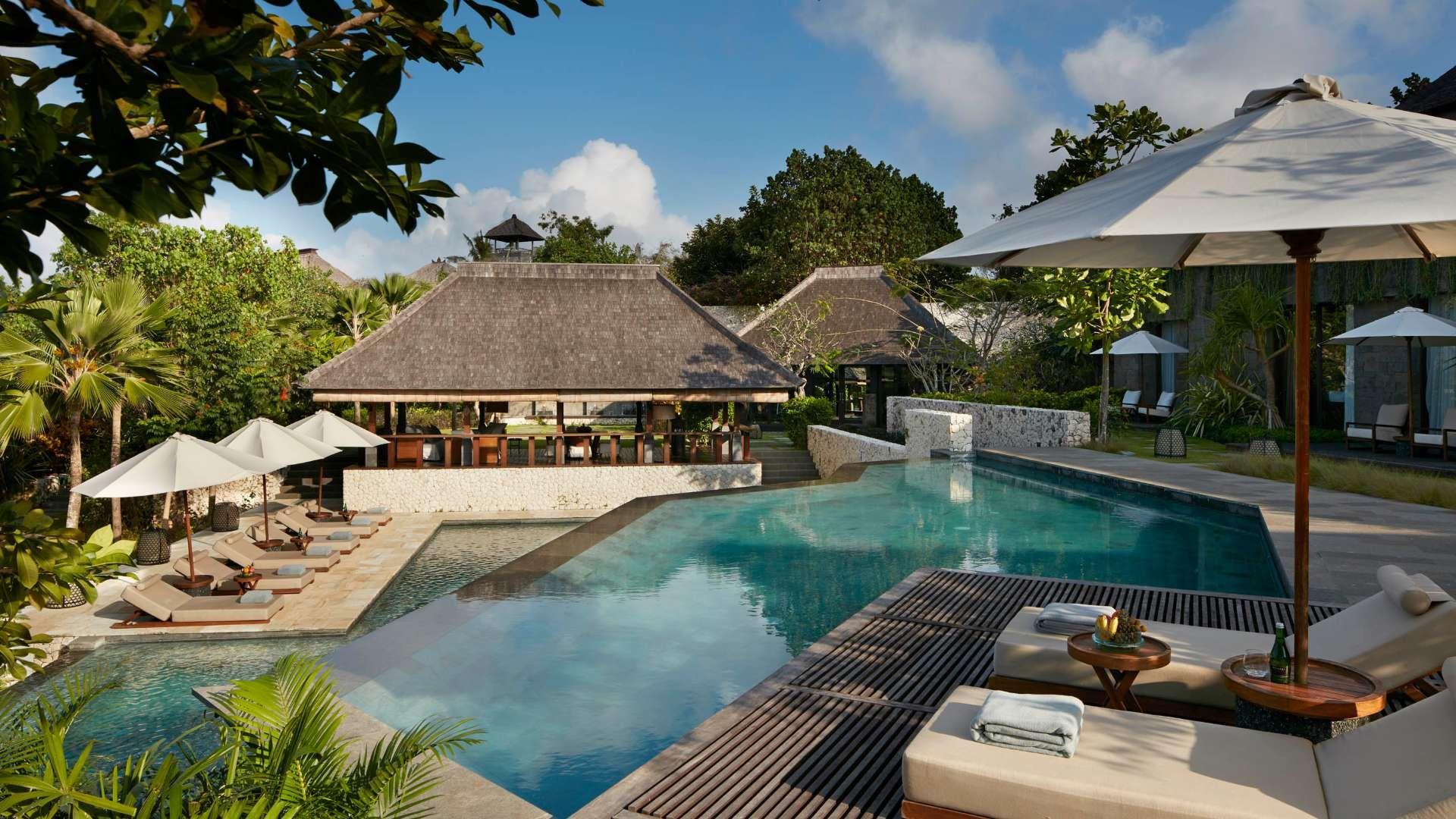 这家巴厘岛宝格丽为意大利珠宝品牌宝格丽全球第二家酒店,也是金巴兰