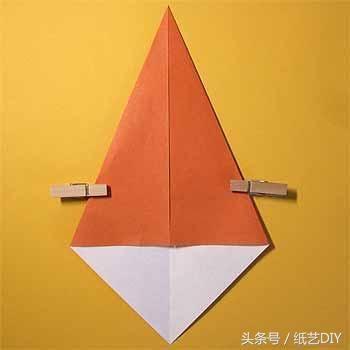 可爱立体的小猴子手工折纸教程