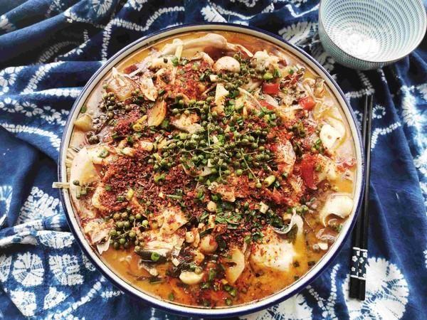 就算是夏天,也想吃的火辣辣又营养,一起学青花椒酸菜鱼