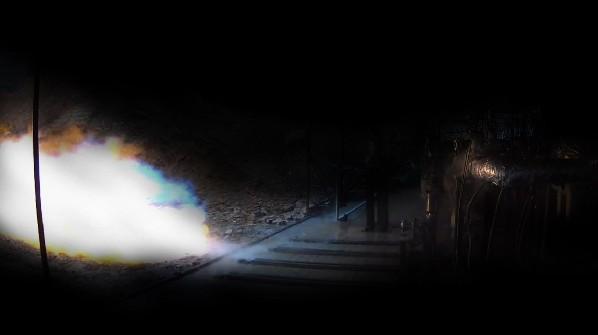 蓝箭航天80吨液氧甲烷发动机燃气发生器点火试车成功