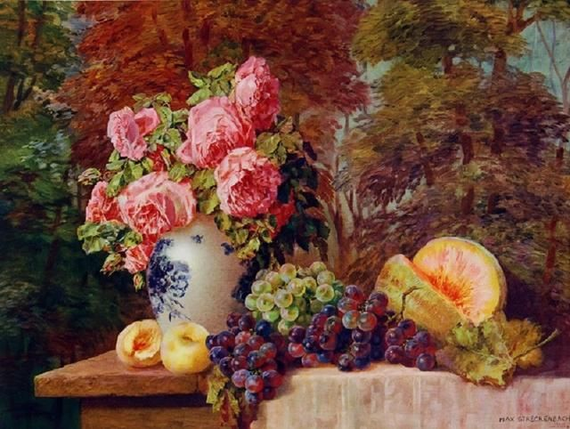 德国艺术家 Max Theodore Streckenbach